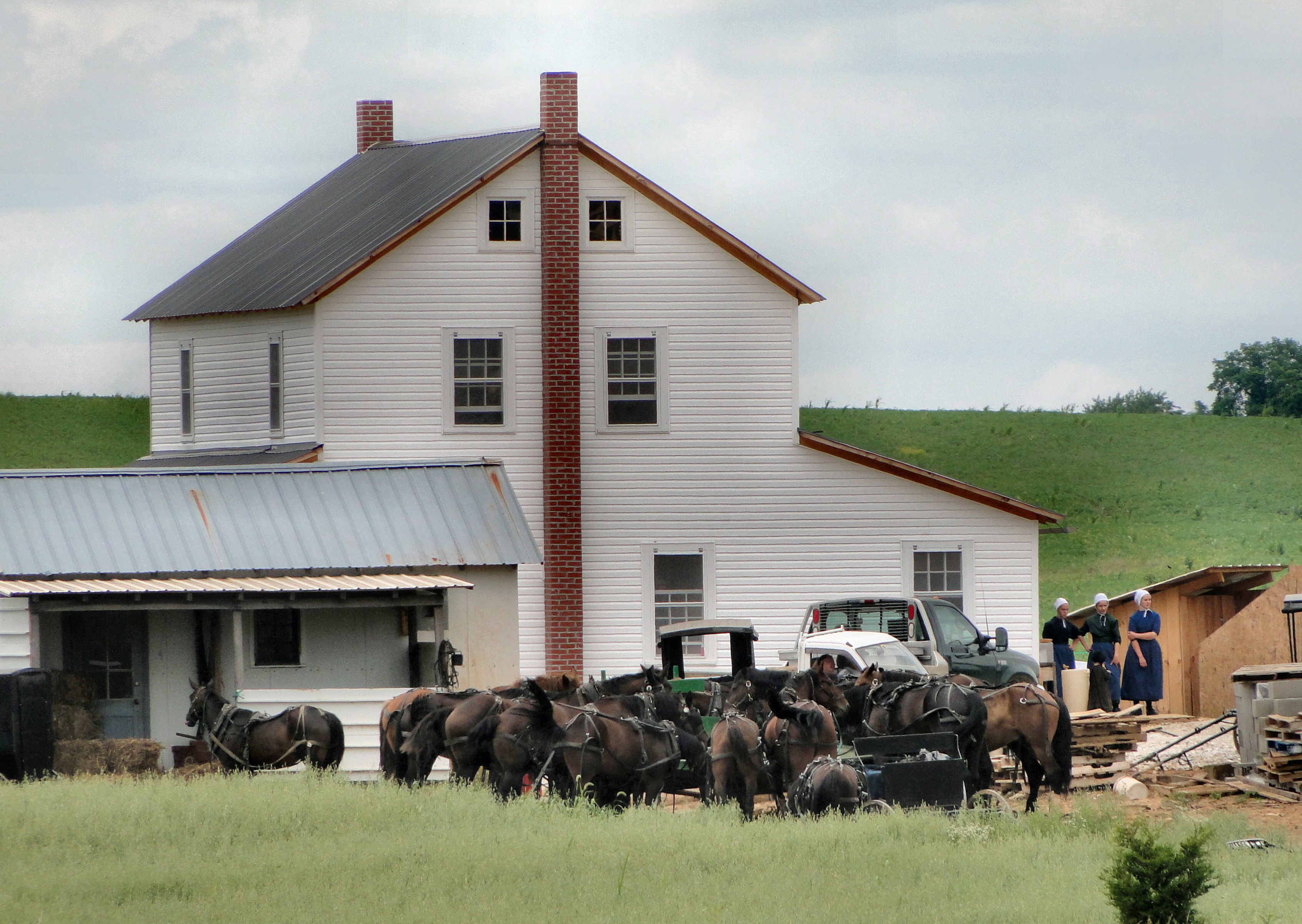 New amish house flickr photo sharing for Amish house builders
