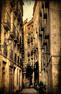 Gothic Quarter in HDR