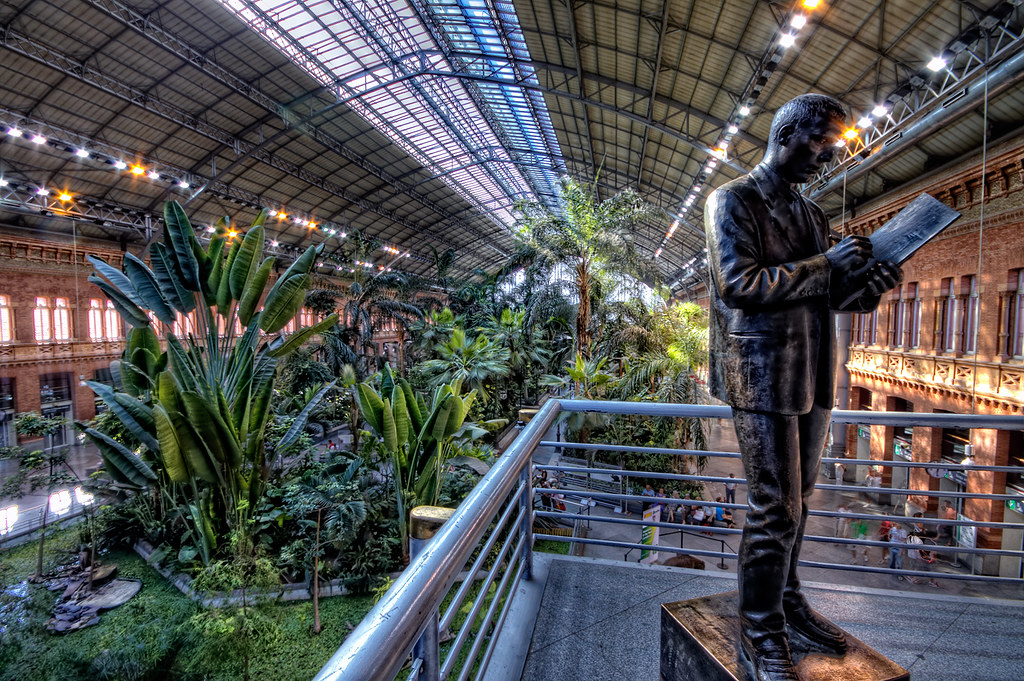 Estación de Atocha, Madrid HDR