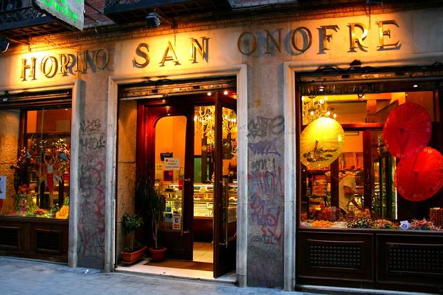 Nuestras tiendas - Pastelera San Onofre