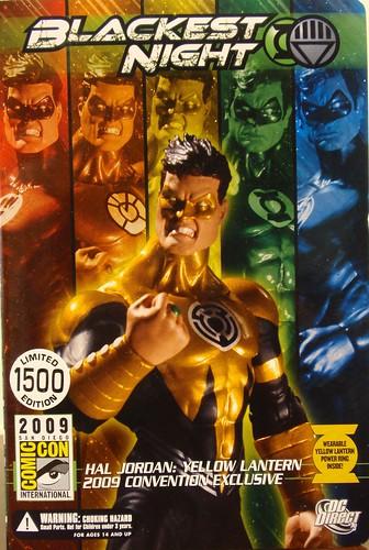 Buyog's Lair: Hal as Yellow Lantern