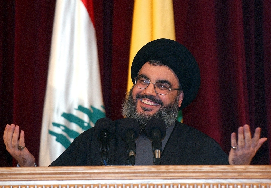 sayed hassan nasrallah declares the freedom of lebanese hostages after kidnapping 2 israeli soldiers