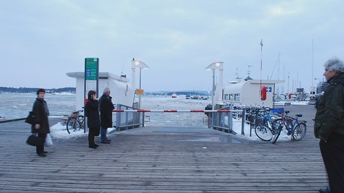 Time Lapse at Aker Brygge in Oslo (HD)