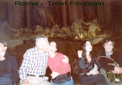 Rome Trevi Fount