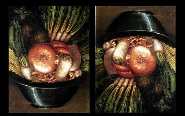 Arcimboldo, Giuseppe (1527-1593) - 1590c.The Market Gardener