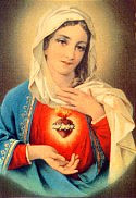 Immaculate Heart of Mary by angelofsweetbitter2009