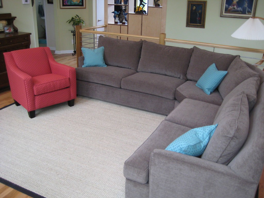 Simple Sectional by Posh Living