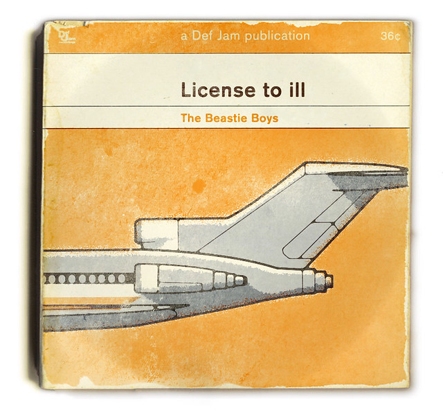 Cover of The Beastie Boys: License to Ill redesigned by Huw Gwilliam
