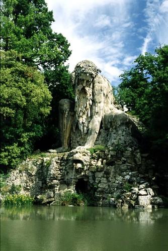 Fontana dell' Appennino a  Villa Demidoff