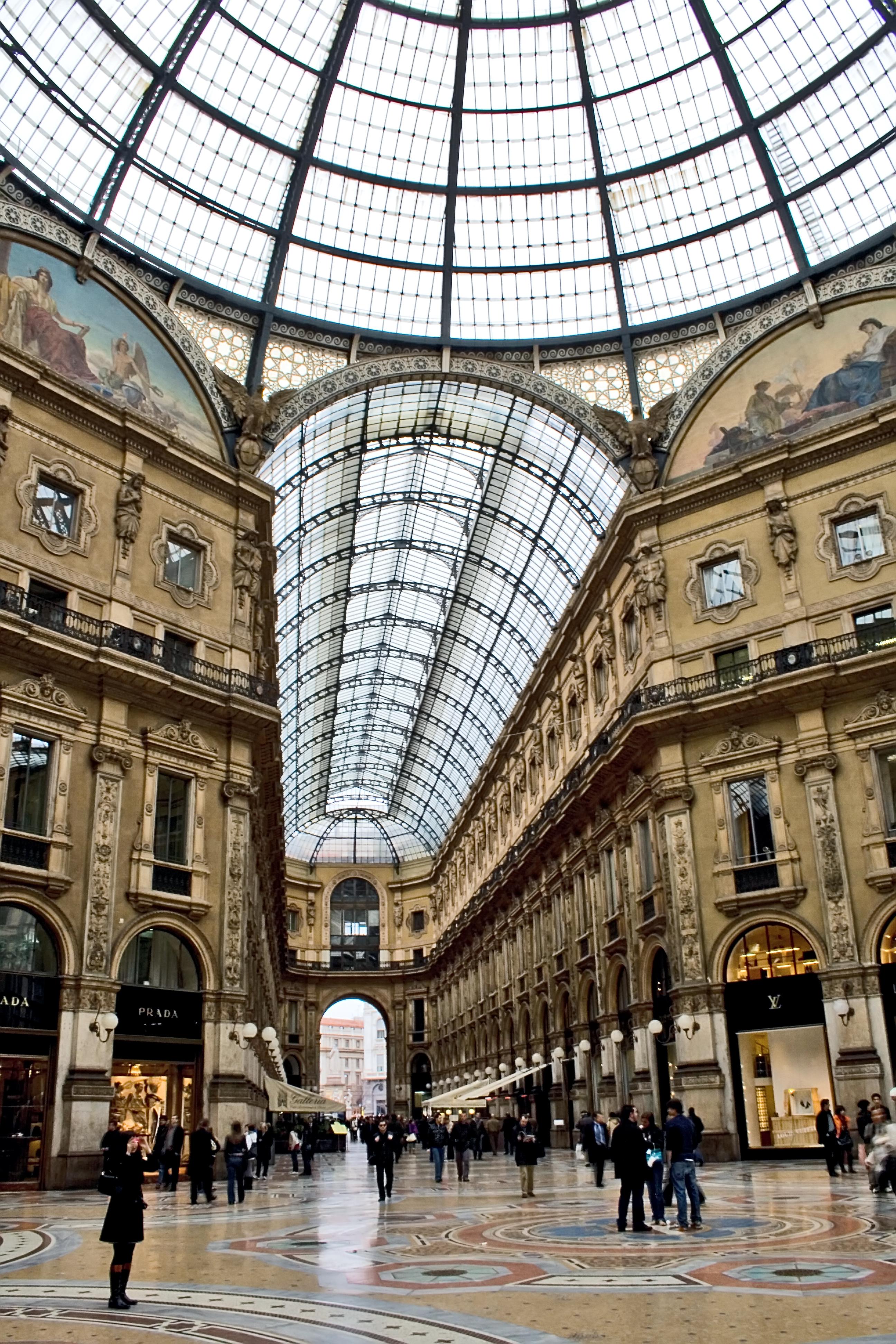 Galleria Vittorio Emanuele II, Milano, Italy | Flickr ...