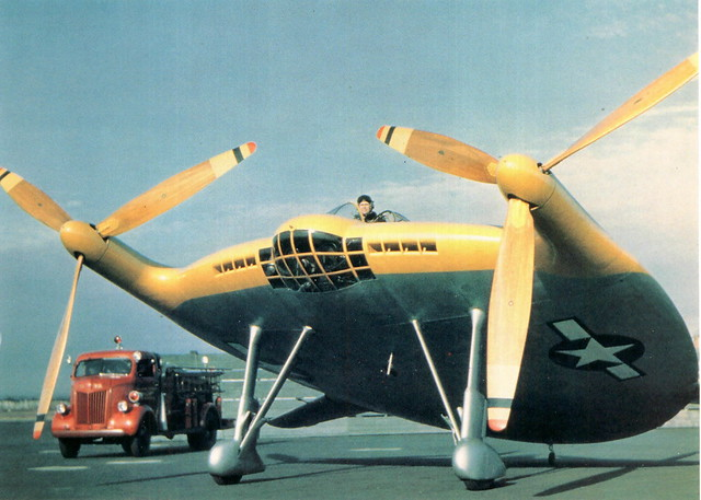Chance Vought V-173 Flying Pancake-front