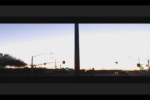 street arizona cars sunrise timelapse tucson
