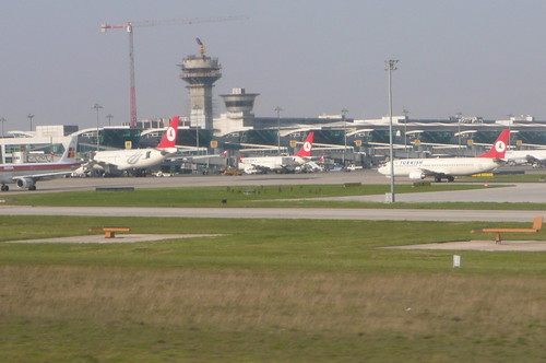 Istanbul, aéroport Atatürk