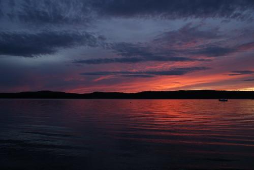 sunset river cove nb kennebecasis quispamsis sonyalphadslra200 meenans