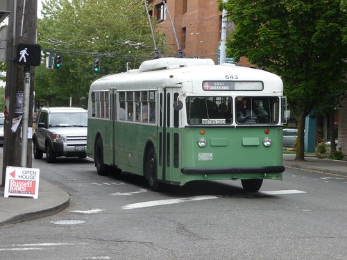 Old Seattle City Buses