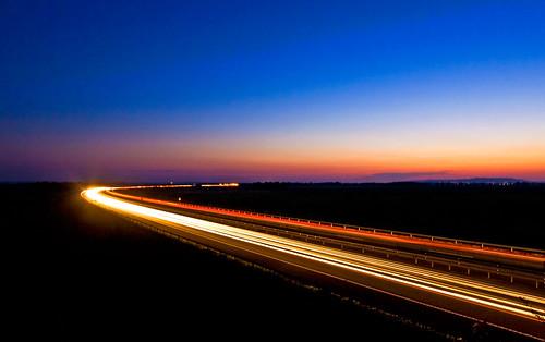 canon highway long exposure hungary motorway sigma 1020 balaton m7 30d magyarország fonyód autópálya