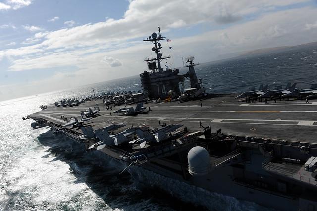 Το αεροπλανοφόρο USS John C. Stennis (Φωτογραφία: U.S. Navy )