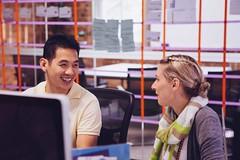 Around the Envato Office - Ben & Jane