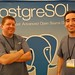 Noel and Erez at the SCaLE7x postgres booth