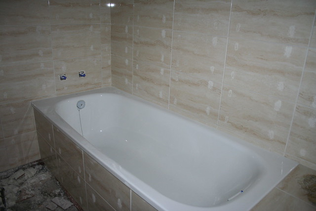 """Azulejos Baño Grandes:Azulejos clásicos del baño """"grande"""""""