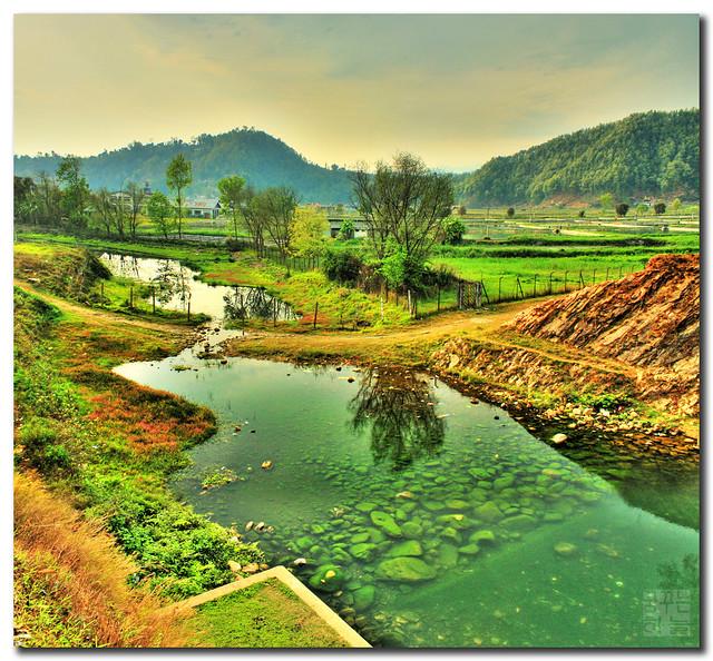 Nepal - Behind Begnash (Pokhara) by Dhilung Kirat