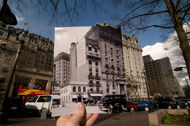 Looking Into the Past: Willard Hotel, Pennsylvania Ave, Washington, DC