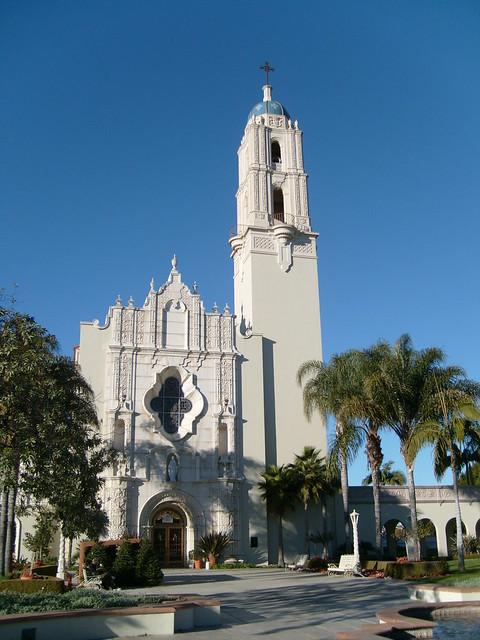Auto Group Of San Antonio >> Immaculata Parish @ USD   Immaculata Parish Church on the ...