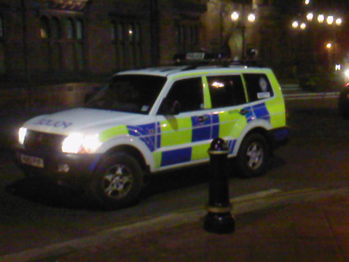 M3156 - West Midlands Police Shogun ANPR RPU