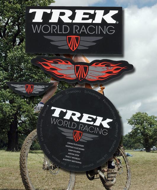 Trek world racing logo