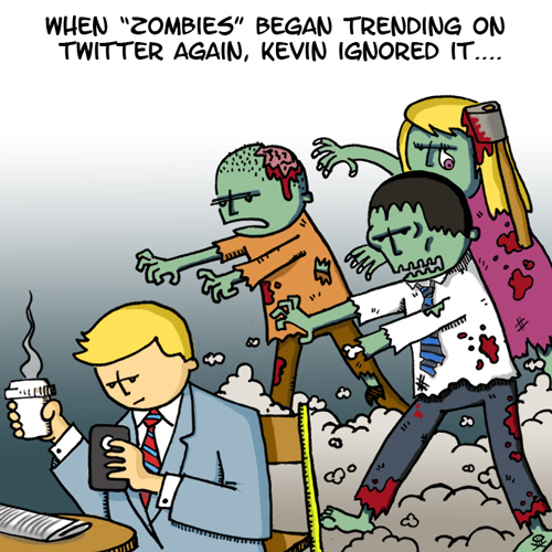 Zombie Twitter Trends