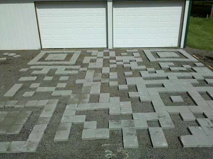 Eric Rice: The first stage of the QR Code driveway