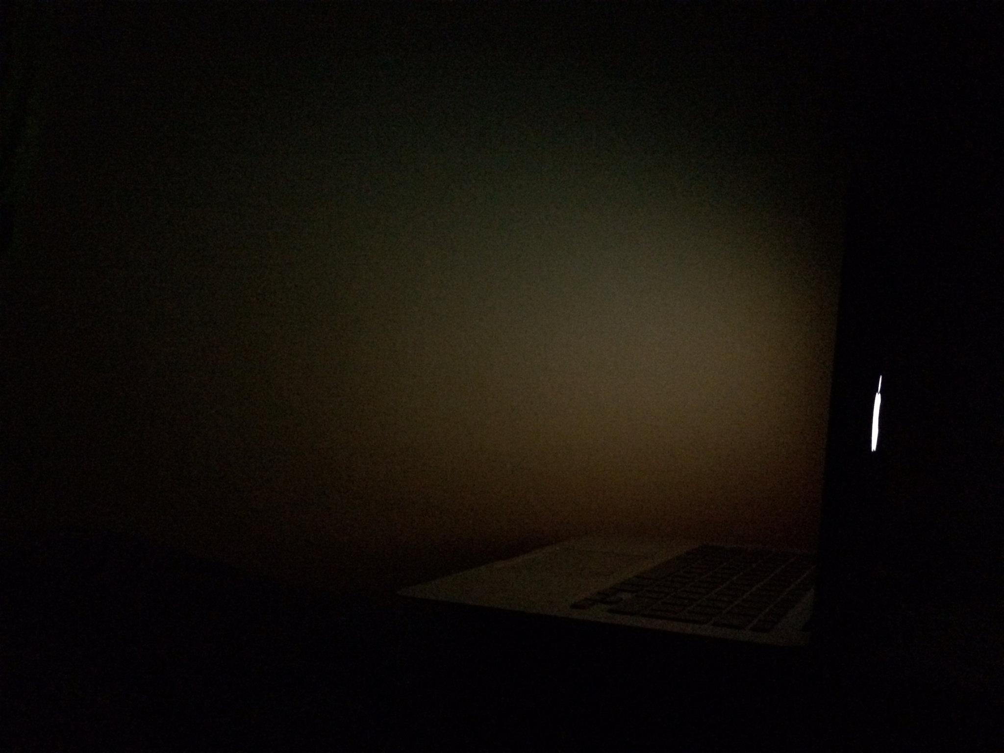 Looks good at maximum brightness against a dark for Black room wallpaper