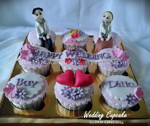 wedding cupcake dkm cakes jember