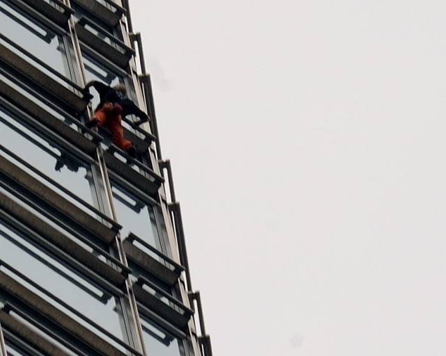 "Alain Robert, aka the ""French Spiderman"""
