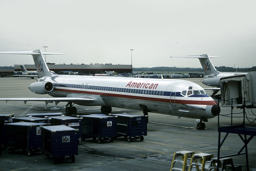 49472 MD-82 N446AA American Airlines Atlanta Hartsfield Airport