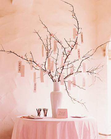 Weddings Cherry Blossom Wishing Tree