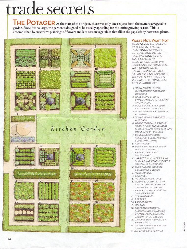 Garden plan protractedgarden for Garden plot planner