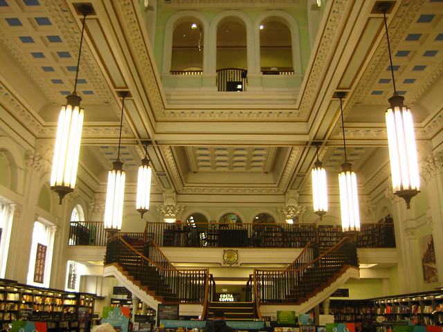 The Waterstones on New Street in Birmingham