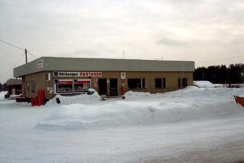 Lähikauppa Partanen 1983