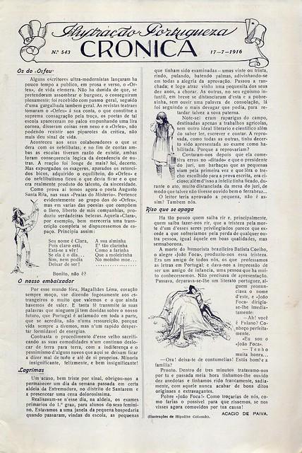 Ilustração Portugueza, No. 543, July 17 1916 - 2