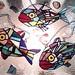 Fish x3 plus shells-2