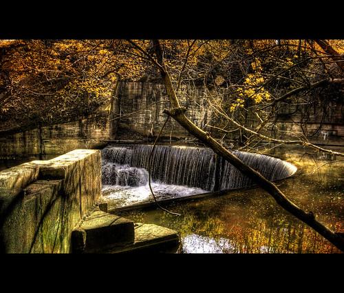 road nature water canon jones is waterfall md stream maryland baltimore falls powershot round horseshoe hdr s5 3xp photomatix superaplus aplusphoto platinumheartaward vftw