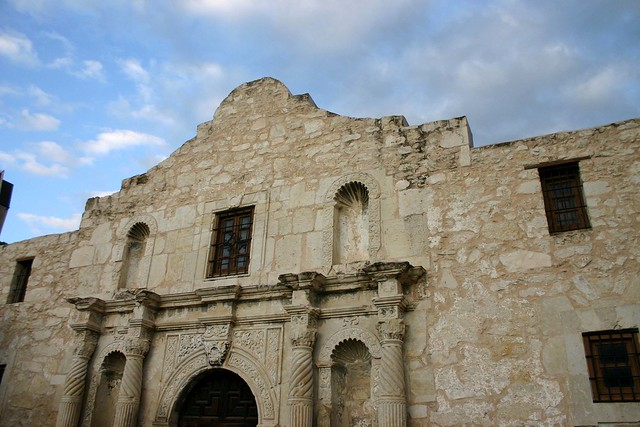 The Alamo by CC user tomasland on Flickr