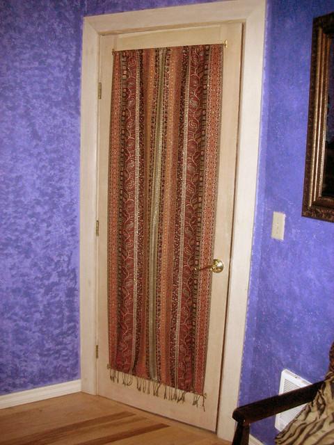 bedroom door curtain flickr photo