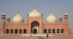 Badshahi Mosque Domes
