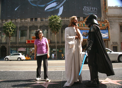 What Could Jesus and Darth Vader Probably Be Discussing?