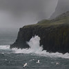 High waves hit coastline of Skye
