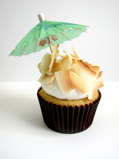Piña Colada Cupcake | Flickr - Photo Sharing!