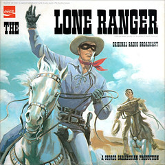 "The Lone Ranger - ""Original Radio Broadcast"", 1972 record by The Retro-Spector"