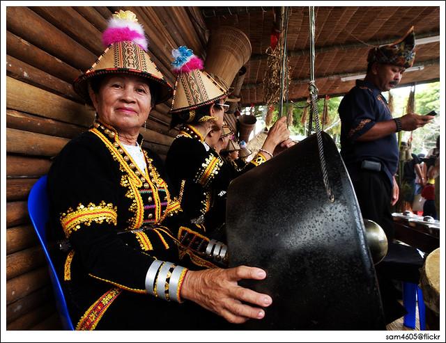 Tadau Kaamatan Festival Open House - Rumah Terbuka Kaamatan 2009 Padang Merdeka - Rumah Papar Kadazan Dusun Murut [ 7 June 2009 ]